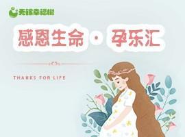 感恩生命·孕乐汇  大型孕妈福利活动
