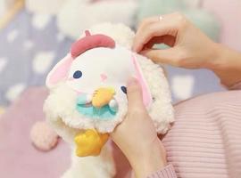 来自妈妈的礼物·宝宝毛绒围巾diy