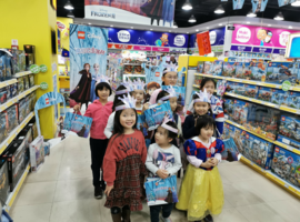 玩具反斗城北京朝阳大悦城魔粒公主派对